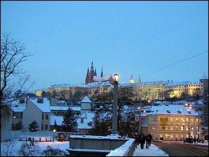 プラハの冬
