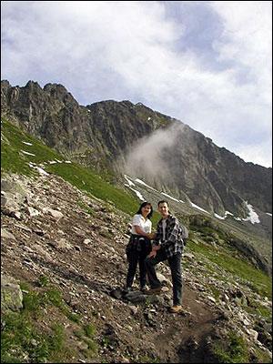 隣国スロヴァキアで山登り