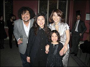 葉加瀬太郎氏Vnのロンドン公演で