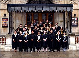 英国王立音大の卒業式