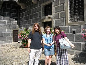 講習会の仲間とお城へ