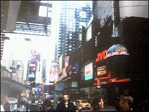 ニューヨークの街を散策