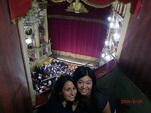 ペルージャでオペラ鑑賞