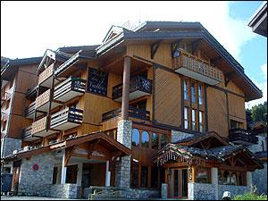 宿泊先のホテル