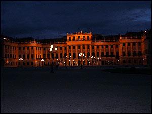 シェーンブルン宮殿でオペラを聴いて